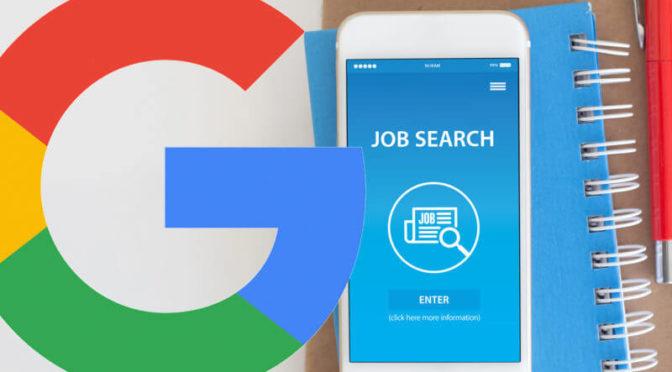 google job search