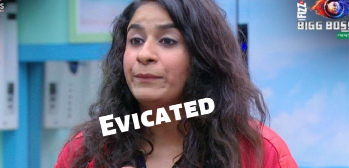 Surbhi rana evicated from big boss