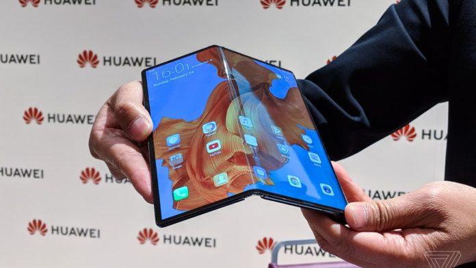huawei foldable phones