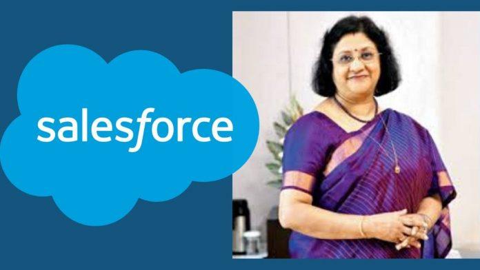 Arundhati Bhattacharya salesforce
